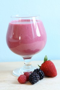 Triple Berry Smoothie 1