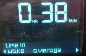 38 mins awake, on average,  when it used to be 2 hours!