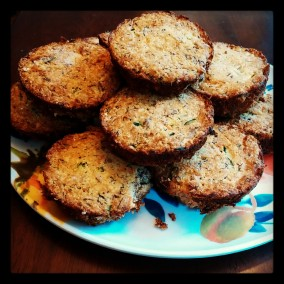 Banana-Zucchini muffins: click image for recipe