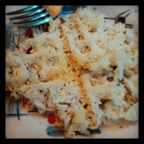 A tip from my Facebook friend, N., to excite my SIBO prep diet: Crispy waffle iron rice! (click image for recipe)