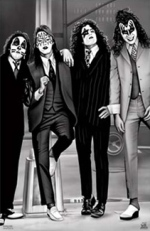 1970s Kiss.